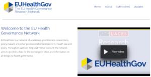 EUHealthGov home page